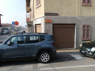 Deviazione sulla dx per Via Monte Oleggiasco
