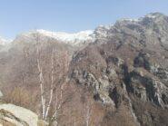 Panorama dal punto più alto del percorso