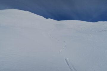 bella neve in questa valletta