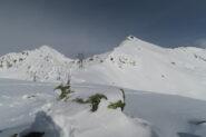 Tete de Barasson con il Mont Mort a sinistra