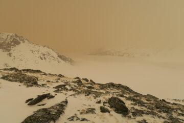 mare di nebbia sulla Valgrisa