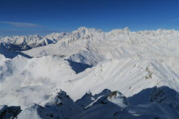 panorama verso il Bianco