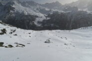 poco sopra l'Alpe Vieille