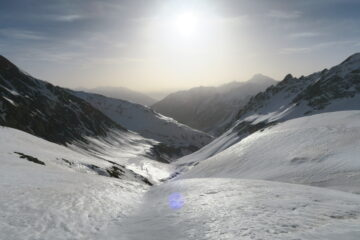 neve luccicosa