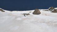 bel tratto di neve portante