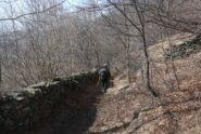 Il bel sentiero per Cordole