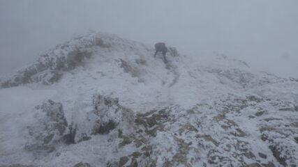 la dorsale SE del Monte Galero che dobbiamo risalire
