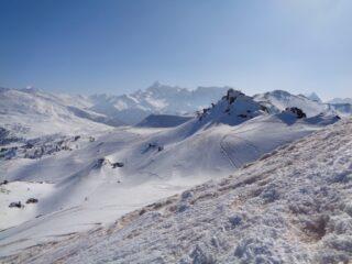 Al centro il Pic de Rochebrune