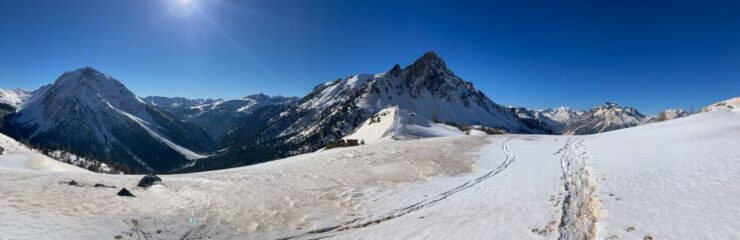 panoramica dal Col des Acles