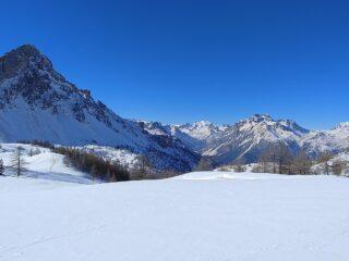 vista direzione bardonecchia dal Col des Acles