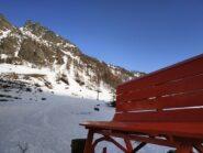 Dalla panchina gigante intorno a quota 1800 m. E adesso fatemi anche una bella ferrata sulle rocce laggiù... :)