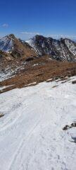 dalla cresta verso il Monte Gregorio