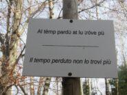 Un proverbio molto attuale....