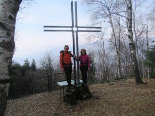 Sulla cima del Monte Casto