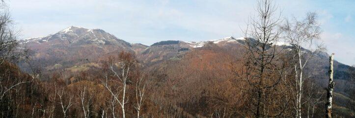 Vista sul Monticchio e Bilemonte