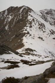 Vista dal Monte Rognoso, cresta che porta a Punta della Croce sul Civrari
