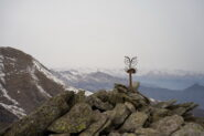 Croce di vetta sul Monte Rognoso