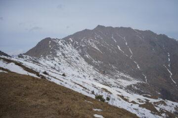 Cresta che porta a Punta della Croce