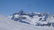 Salendo con vista sul Pic de Rochebrunne