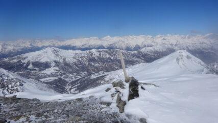 In cima al Monte Sotto Rognosa