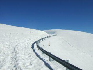 strada verso malga Mariech