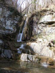 Tripla cascatella tra Moranego e la Scoffera