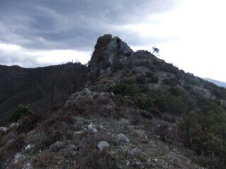 Verso la cima della Pietra di Vasca