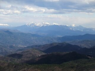 Panorama dal Monte Groppi