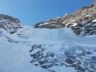 il muro di ghiaccio a 80°..