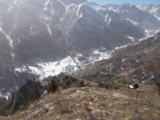 il vallone di Bellino dalla P. di Grangia Ricarda..