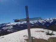 la croce sul Monte Alpet