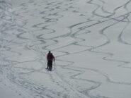 arabesque sulla neve