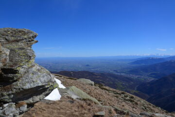 Dalla cima verso il Cuneese