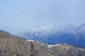 Monte Pelvo imbiancato