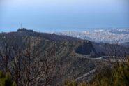 Forte Richelieu e Genova dal monte Poggiasco
