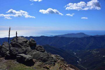 Panorama verso Sud dalla Cima Ovest del Ramaceto