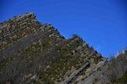 La cresta Sud del Dente di Ramaceto