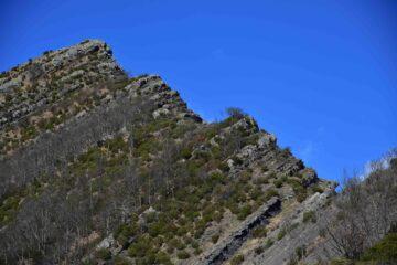 La cresta Sud del Dente di Ramaceto dal Passo-del-Dente