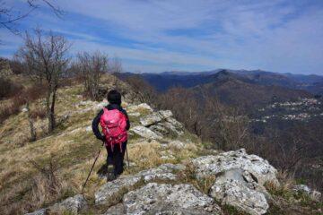 La cresta verso il monte Proi