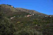 Monte Borriga e monte Fasce da via del Chiapparo