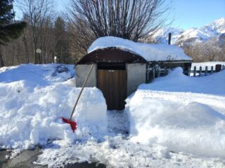 La neve non manca