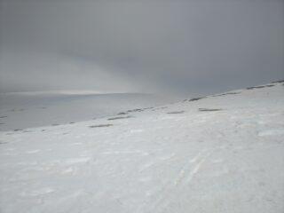 Cielo e neve si fondono