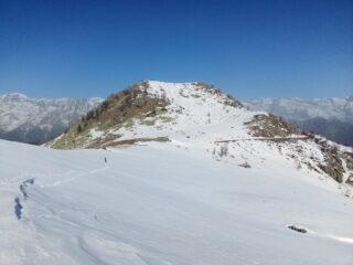 La testa Paian vista dai pressi dell'alpe del Conte.