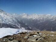 Sempre dalla Paian, il panorama verso l'alta val d'Ala.