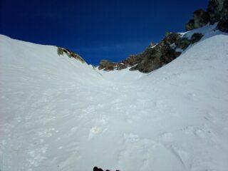 salendo impluvio/valloncello dopo le Montagne Baus