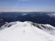 Cresta di salita a Lago Maggiore