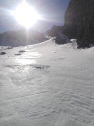 qualche tratto di bella neve