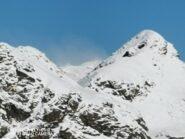Il Monte Rosa fa capolino