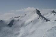 il Mont Fourchon dalla Tete de Fenetre