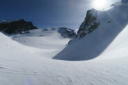 il bel valloncello che precede il ghiacciaio
